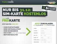 freenetmobile SIM-Karte gratis