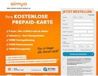 simyo SIM-Karte gratis